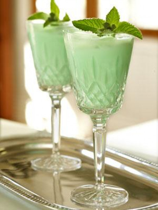 Grasshopper Cocktails