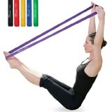 Resistance bands can be tubes or flat bands