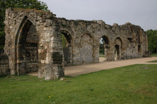 St Oswald's Priory, Gloucester, built by Aethelflaed around 900 A.D.