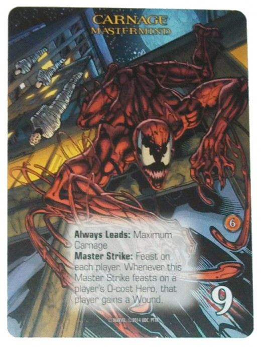 Carnage, one of the two Masterminds in Paint the Town Red