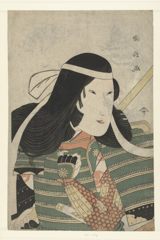 Tomoe Gozen by Utagawa Kunimasa