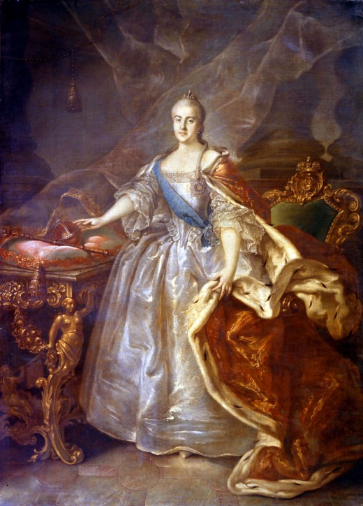 Catherine II by I.Argunov