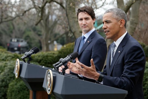 Name recognition worked for Justin Trudeau, Canadian Prime Minister whose father is Pierre Trudeau, a former Canadian Prime Minister.  He is with U.S. President Barack Obama during Trudeau's state visit to the U.S. in March 2016.