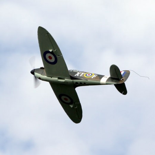 Radio Controlled Spitfire - Very Realistic!