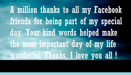 Thank you message for birthday greetings received hubpages the list below and write your own unique message to show your thankfulness you can send these thankful wishes via textsms email facebook twitter m4hsunfo