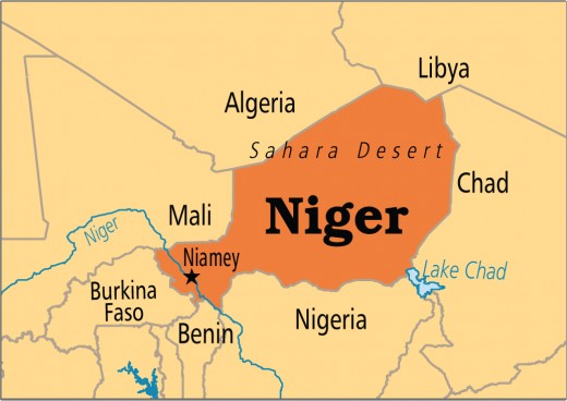 Map Of Niger