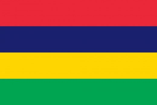 National Flag of Mauritius