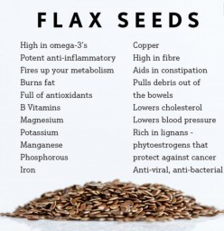 How to make a flax 'egg'
