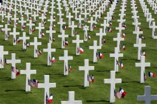 Normandy, a Monument to Sorrow and Grief
