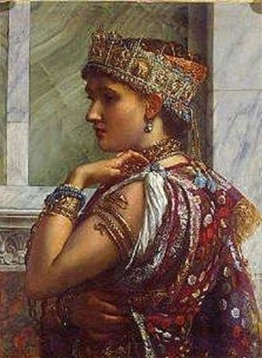 Zenobia, Queen of Palmyra, by Sir Edward Poynter