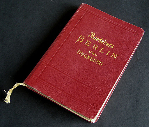 Karl Baedeker's written travel guide.