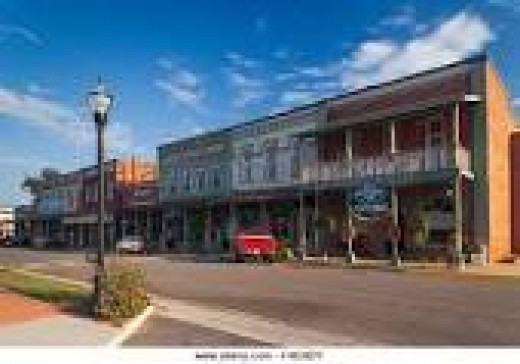 Downtown Plains, GA