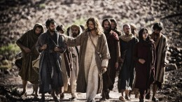 Images from 'The Bible' series.