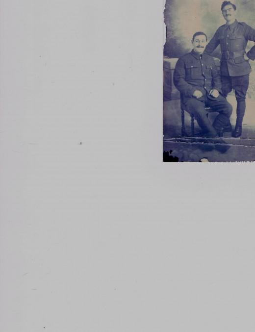 Private Thomas Pratten,  Royal Fusiliers.