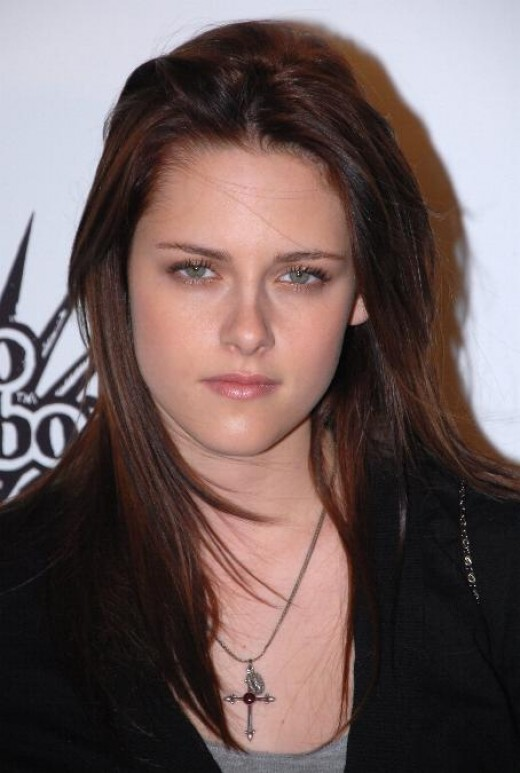 Kristen Stewart at one award ceremony of Hollywood in year 2007