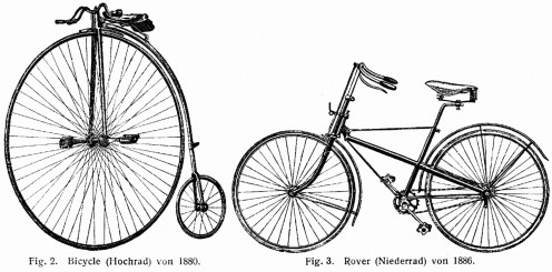Bicycles of the era