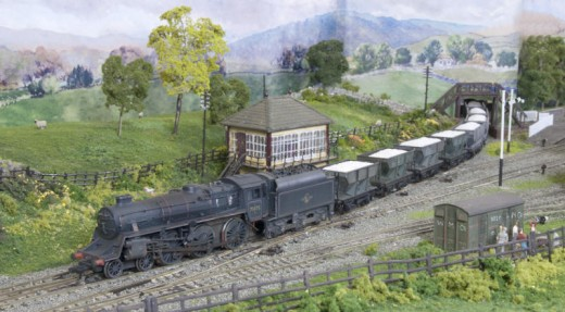 Bradford Model Railway Club's Grassington layout based on the Yorkshire Pennine area of British Railways' Midland Region