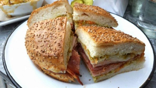 Muffuletta from Cochon Butcher Shop