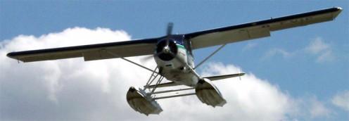DHC-2 Beaver float plane.