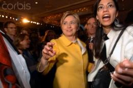 Hilary Rodham Clinton, running against Sen. Bernie Sanders to hopefully win the Democratic nomnation.