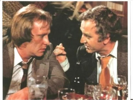Regan and Carter from The Sweeney.