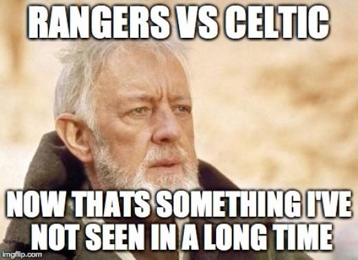 Scratch that; now it's just Rangers fans.