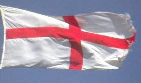 Are English living in Ireland allowed to fly their flag and have parades on St George's Day?