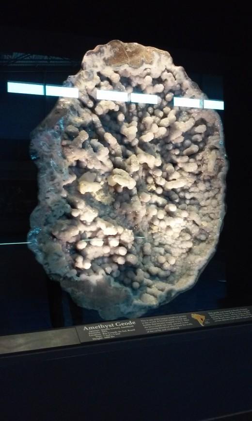 Tellus Museum Amethyst Geode