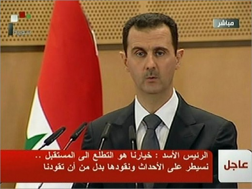 Assad:  One of the reasons many Syrians have left.