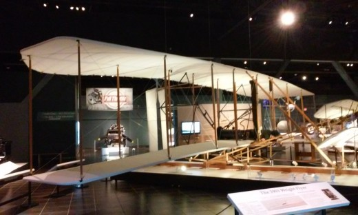 Tellus Museum - Wright Brothers Plane