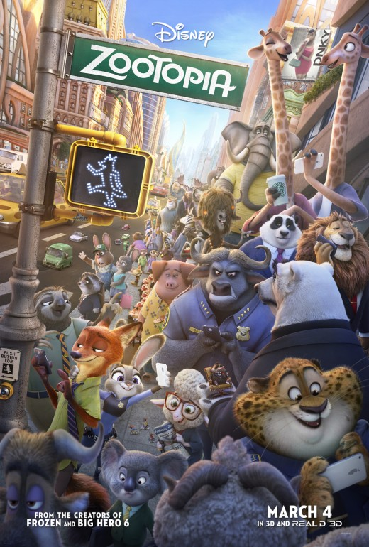 Just another busy day in Zootopia!