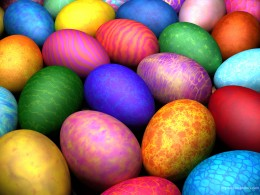 Easter eggs historically were painted with the blood of sacrificed babies and children to a demon god.
