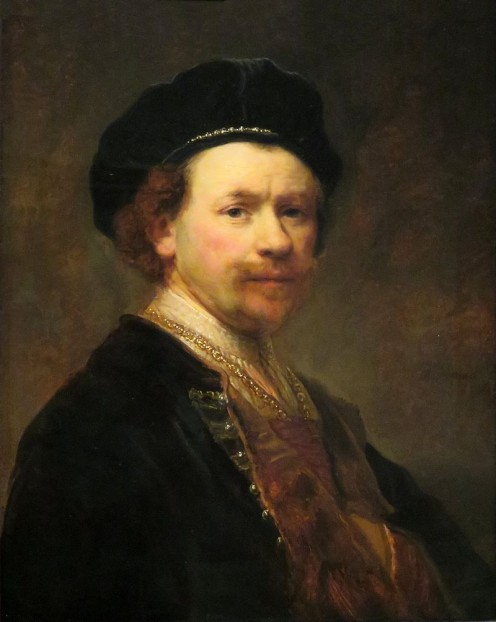 Self Portrait of Rembrandt in Middle Age