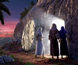 Mary came to the tomb at the beginning of Sunday; Jesus had already risen that Saturday evening.