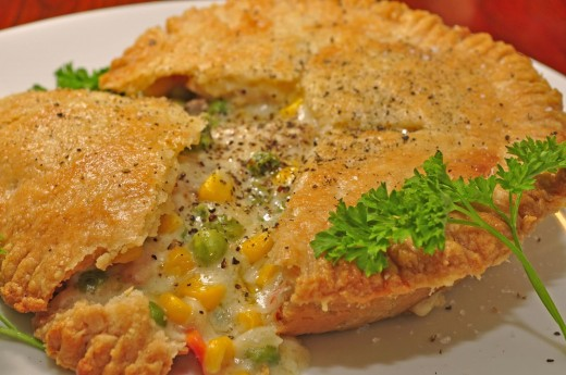 The world's best chicken pot pie