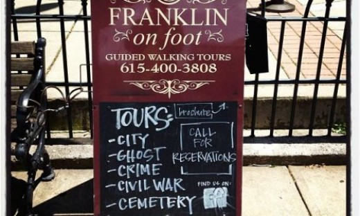 Franklin on Foot of Franklin, Tennessee