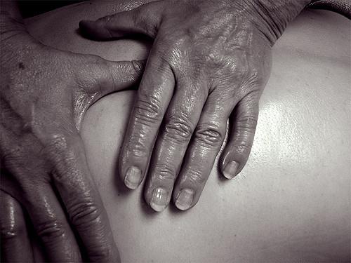 Body Oil Massage