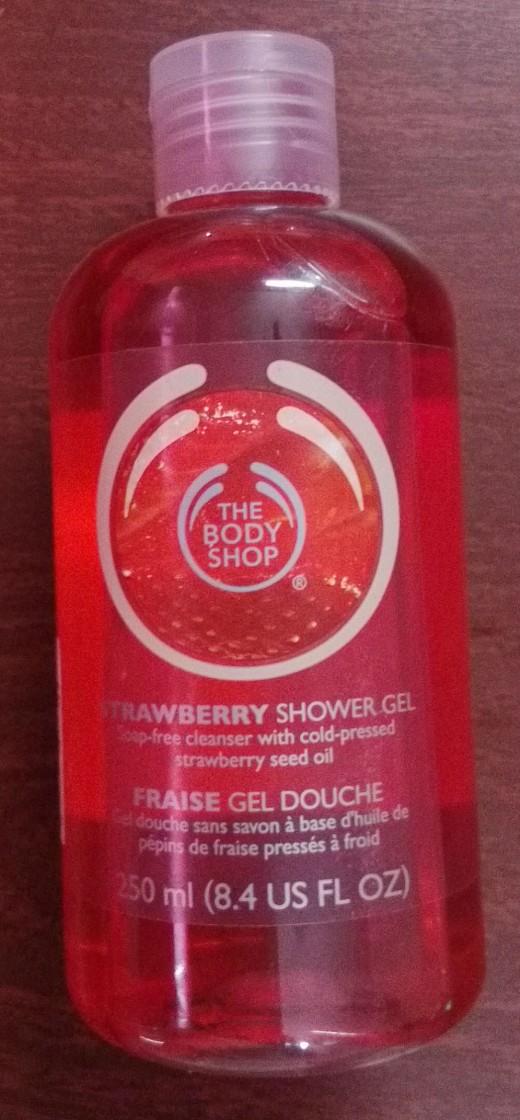 The Body Shop Strawberry Body Wash