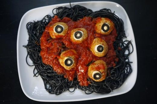 A Spooky Halloween dinner idea