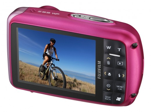 Fujifilm FinePix Z33WP 10MP Waterproof Digital Camera with 3x Optical Zoom (Pink)