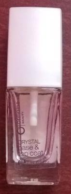 Oriflame crystal base and top coat nail enamel