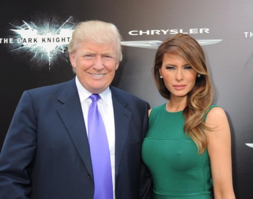 Donald Trump with America's next first Lady?
