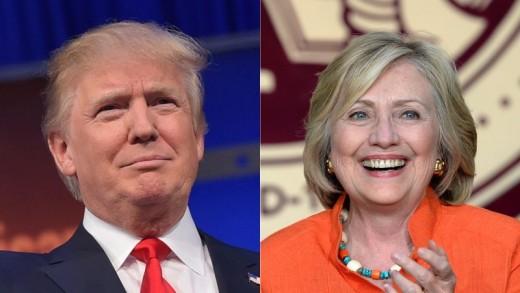 Donald Trump or Hillary Clinton?