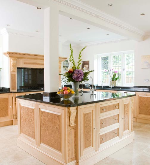 Veneered kitchen