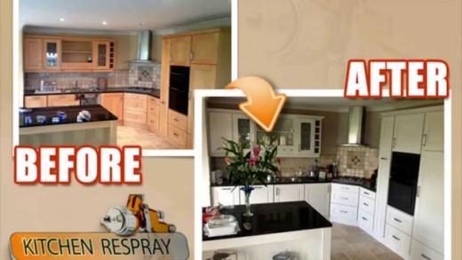 Repaint Kitchen Cabinets