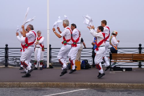English culture:  Morris dancing something  many English people laugh at or are not even aware of its existence.