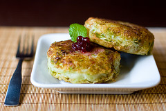 Rather nicely made Bubble and Squeak Patties