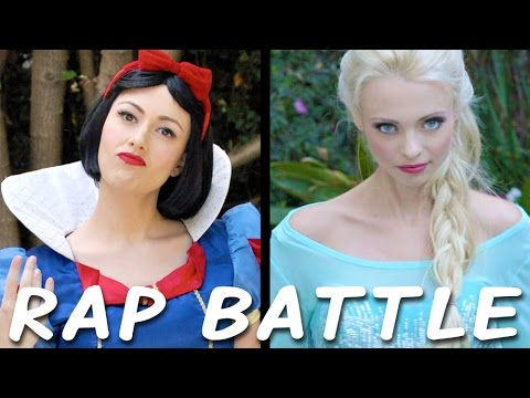 The first princess rapping against the newest princess. The winner gets decided in this one.