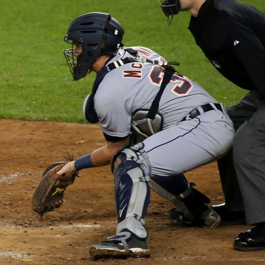 Detroit Tigers starting catcher, James McCann.