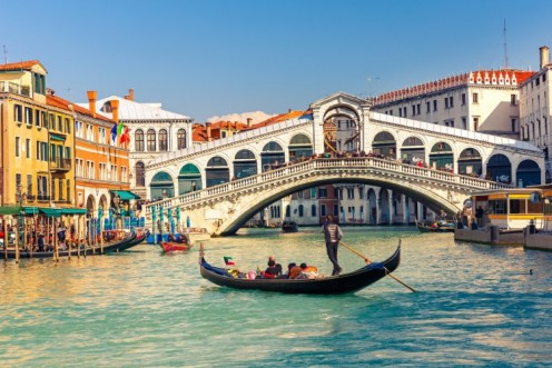 Famous worldwide, Venice offers unforgettable and life-enriching experiences via its picturesque waterways.